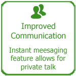 Improved communication between agents, Thakur International