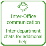 Improved inter-office communication, Thakur International