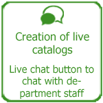 Creation of live catalogs, Thakiur International