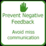 Prevent Negative Feedback, Thakur International
