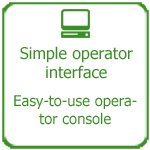 Simple operator interface, Thakur International