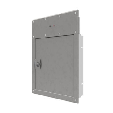 Electric Interlock Door – Linen