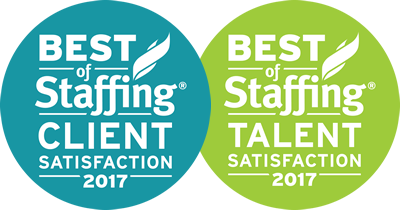 Best of Staffing Client / Talent Satisfaction 2017