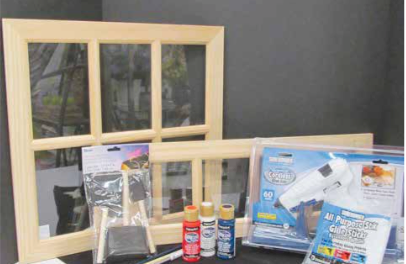 Patriotic Window Frame