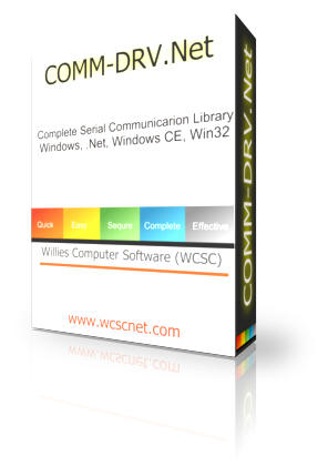 COMM-DRV.Net - Serial communication .Net Component and DLL for Windows