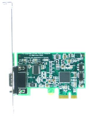 HDWP1232950E LF659KB 1 Port RS232 Serial PCI Express Card
