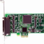 HDWP4232950E LF653KB PCI Express 4 Port Multiport serial card
