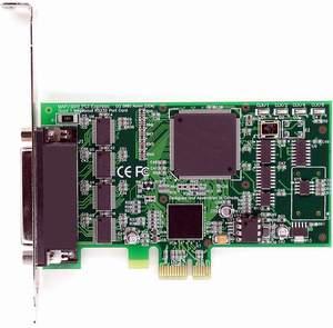 HDWP4232950E LF653KB PCI Express 4 Port Multiport serial card