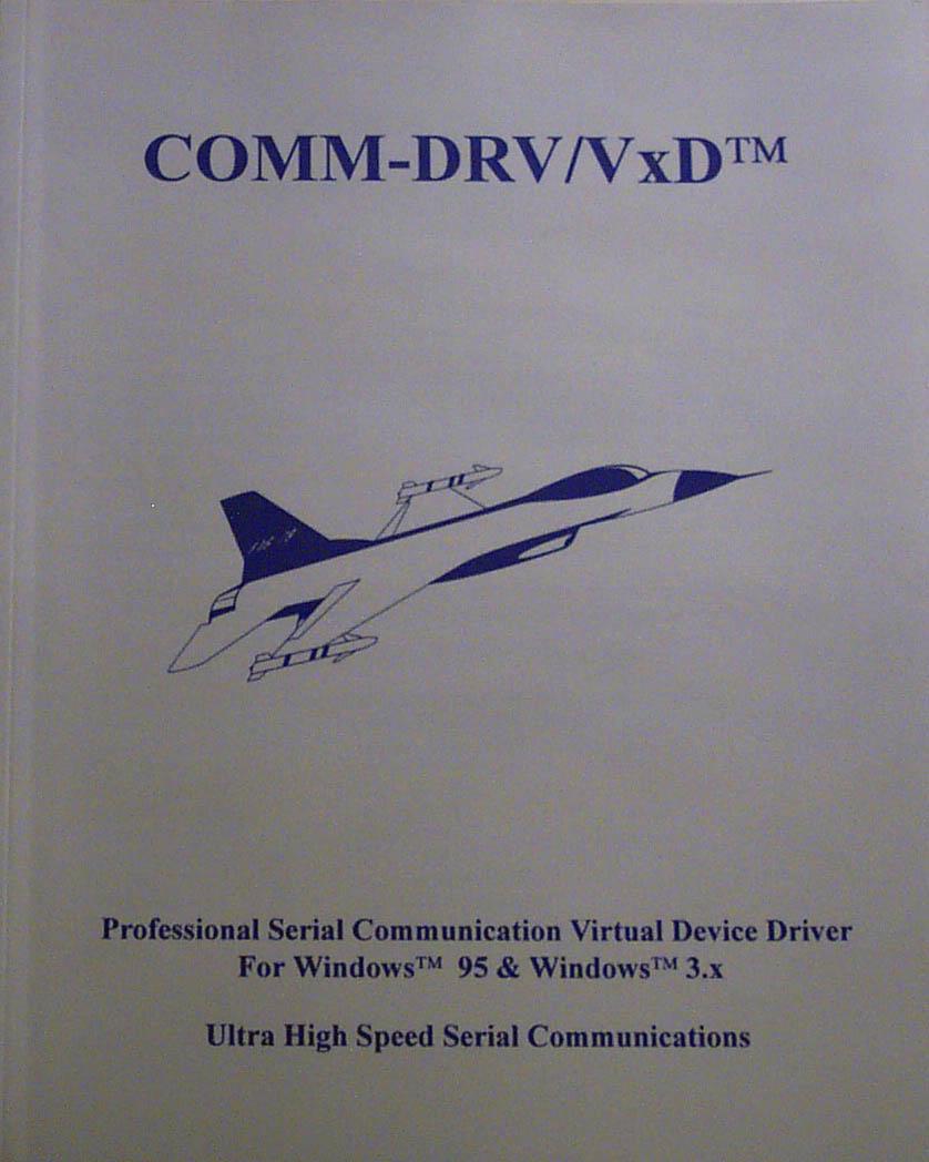 COMM-DRV/VxD Manual Photo