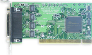 Axxon LF598KB 4 Port RS232 PCI Serial Adapter Card (HDWP4232550iLP)