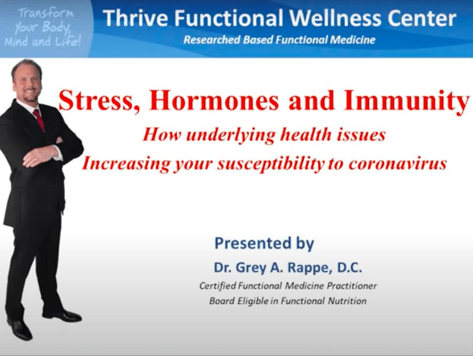 Stress, Hormone & Immunity Live