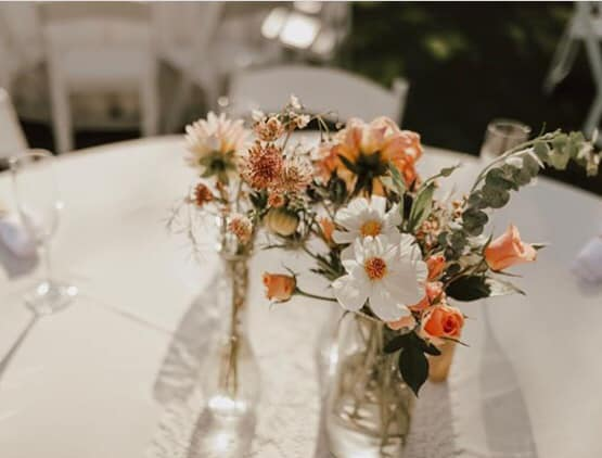 vintage and upcycled vases for DIY florals