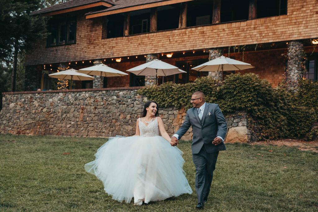 wedding day of coordinator northern california