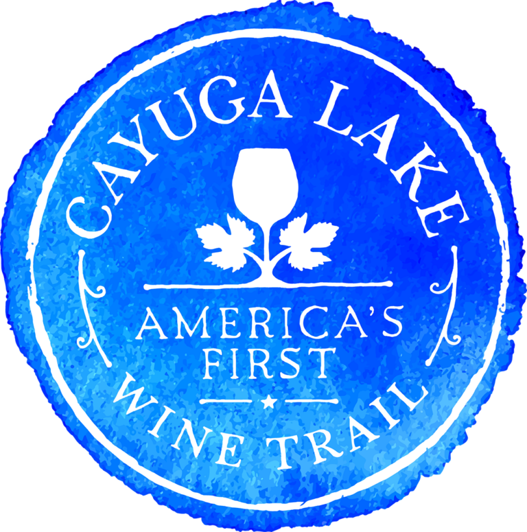 logo for cayuga lake wine trail
