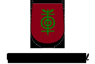 logo for upper hudson wine trail