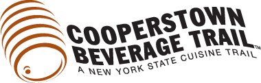 logo for cooperstown beverage trail