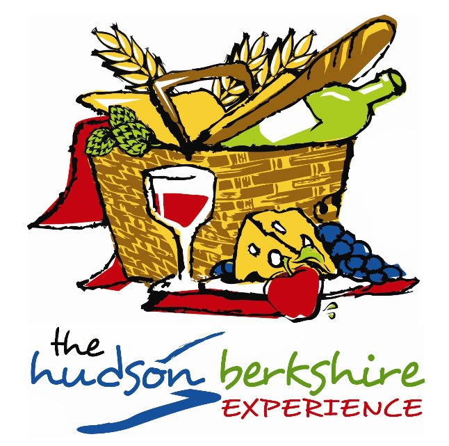 logo for the hudson berkshire experience