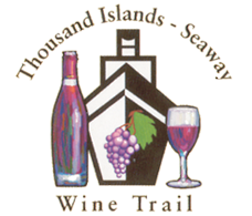 logo for thousand islands seaway wine trail
