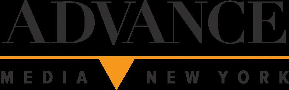 text logo for advance media new york