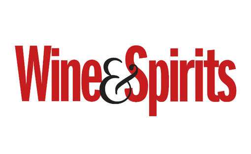 text logo for wine and spirits magazine