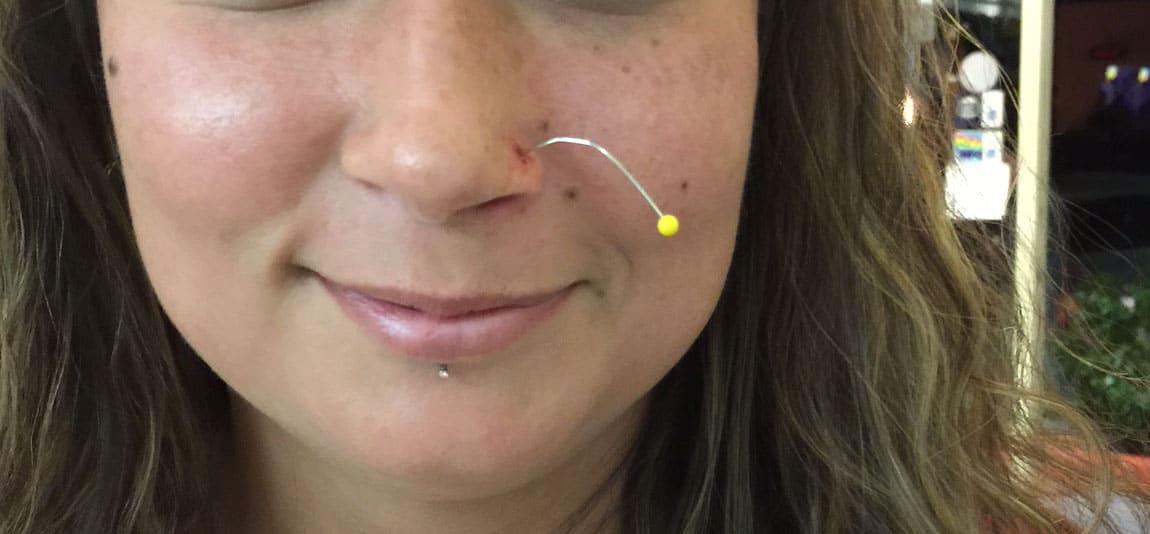 DIY piercing in three easy steps…