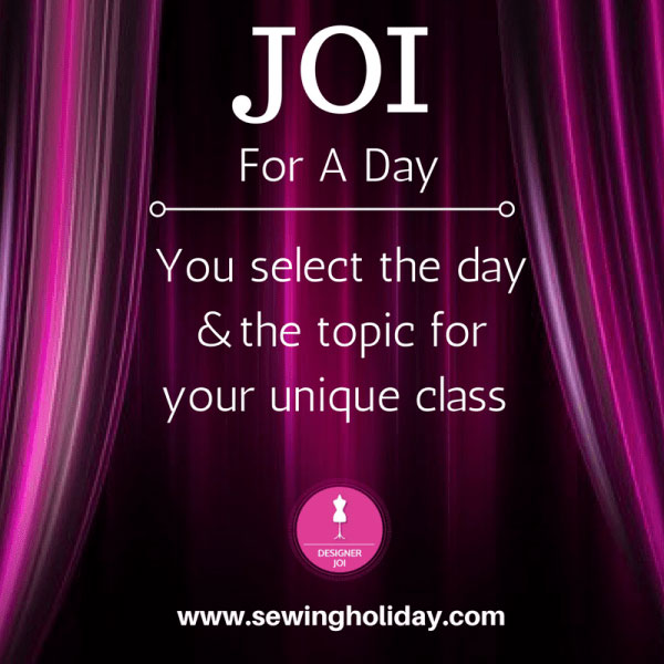 Designer Joi - Joi For a Day