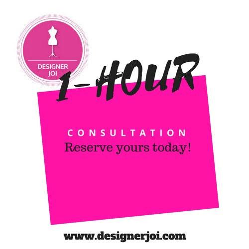 Designer Joi One Hour Consultation