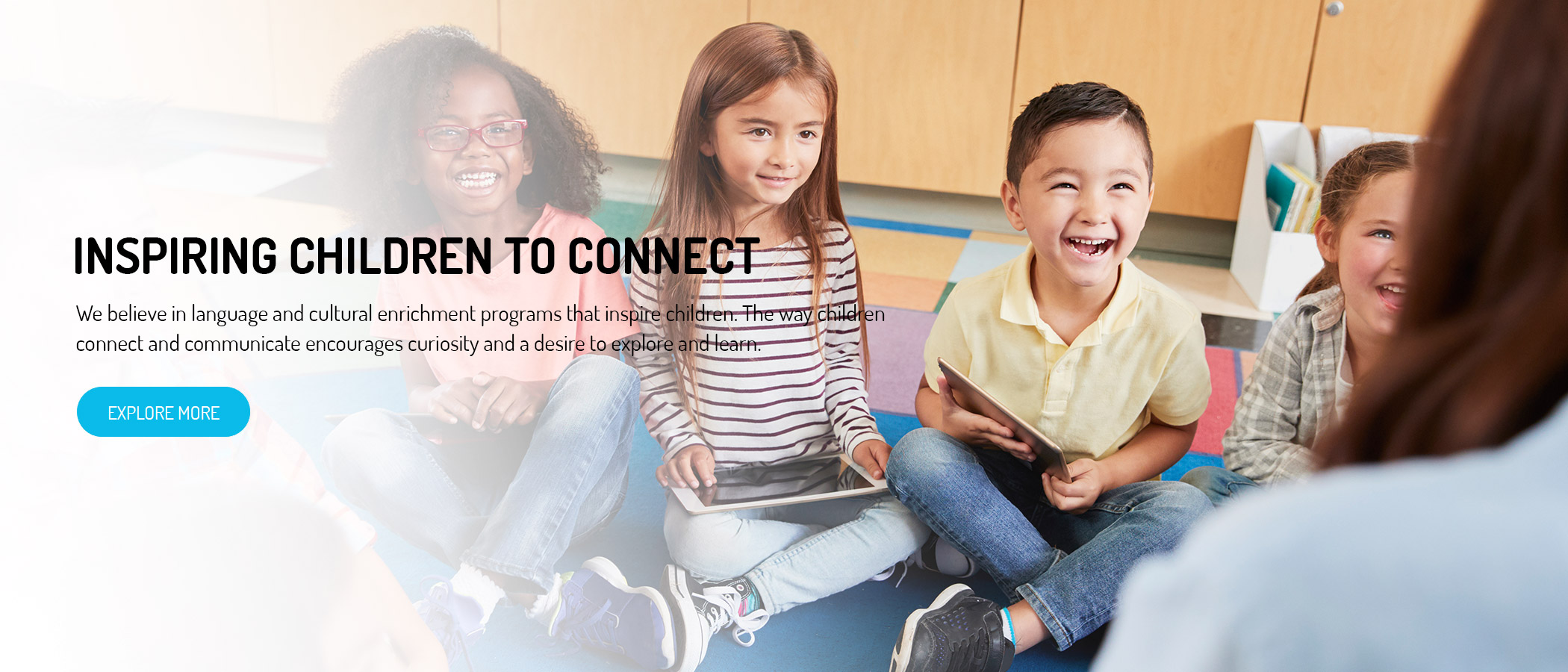 Inspiring Children To Connect