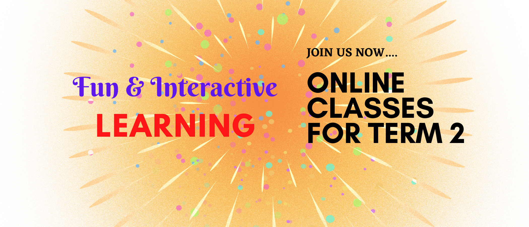 Online Classes For Term 2