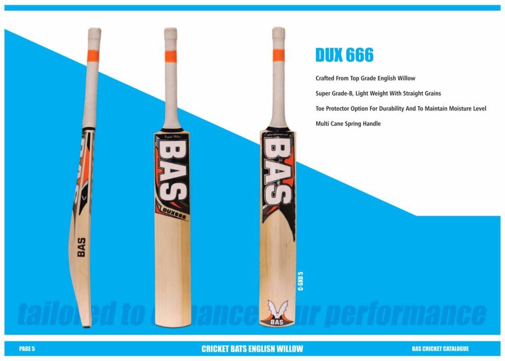 BAS Cricket Catalogue 2018