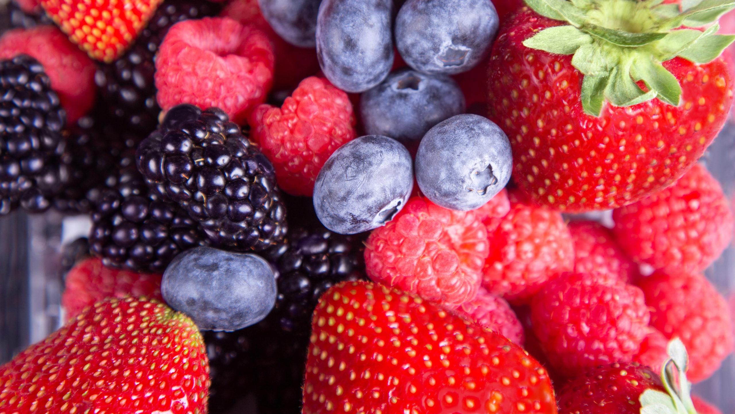 Fresh Results combination berries: strawberries, raspberries, blueberries, and blackberries
