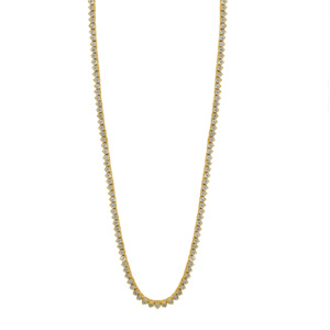 10K 2.01-2.04CT D-NECKLESS MENS RDS  P1  26""