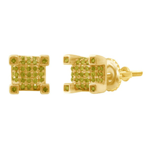 10K 0.27-0.34CT D-EARRING RDS CAN