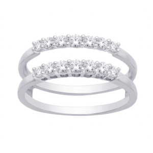 14K 0.48-0.51CT D-RING GUARD LDS RDS
