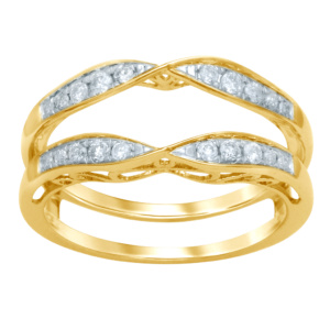 14K 0.24-0.26CT D-RING LDS RDS