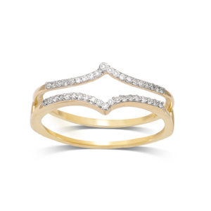 10K 0.13-0.16CT D-RING GUARD RDS LDS