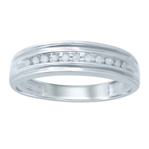 10K 0.09-0.11CT D-BAND MEN RDS