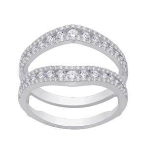 14K 0.98-1.03CT D-RING GUARD LDS RDS