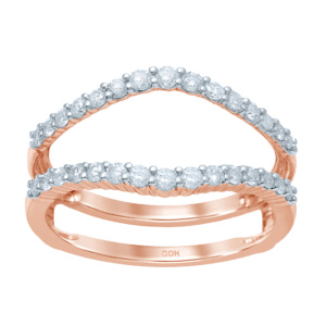 14K 0.48-0.52CT D-RING GUARD LDS RDS