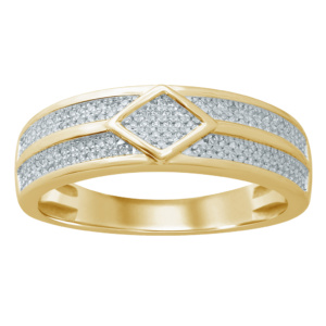 10K 0.21-0.22CT D-BAND RDS MEN RDS
