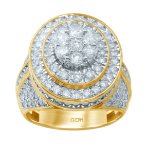 10K 3.48-3.61CT D-RING MENS RDS