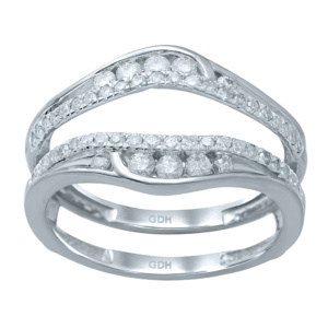 10K 0.47-0.53CT D-RING GUARD RDS