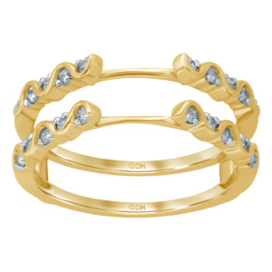 10K 0.24-0.25CT D-RING GUARD RDS