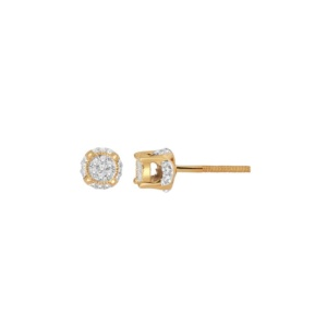 10K 0.10CT D-EARRING RDS MP