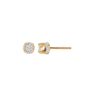 10K 0.11-0.12CT D-EARRING RDS MP