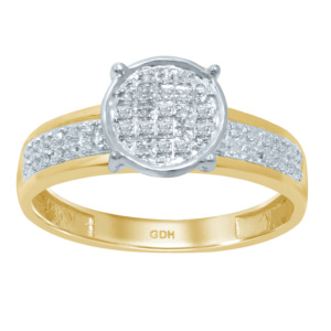 10K 0.10 -0.11CT D-RING LDS RDS MP