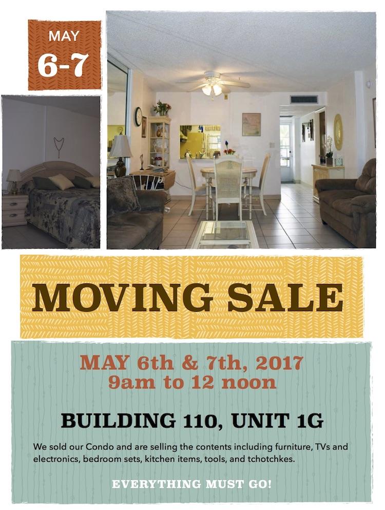 Moving-Sale-Unit 110-1G