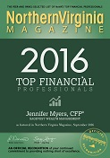 NoVA Magazine Top Financial Professional Award 2016