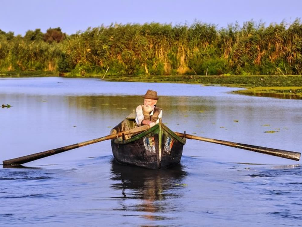 Man fishing because he has the time after retiring part-time