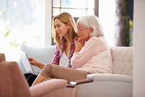 Grandmother and adult grandaughter considering how to invest based on age